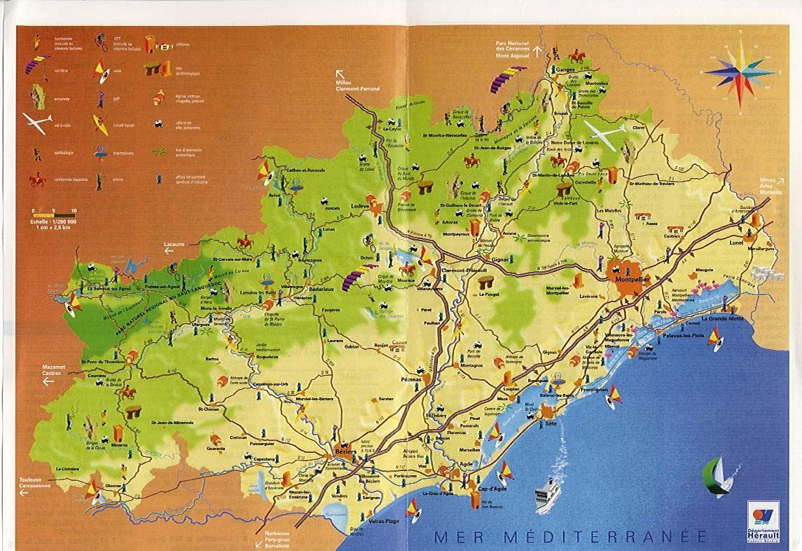 Immobilier en Languedoc région de Béziers
